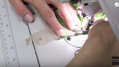 как правильно пришить шторную ленту на шторы