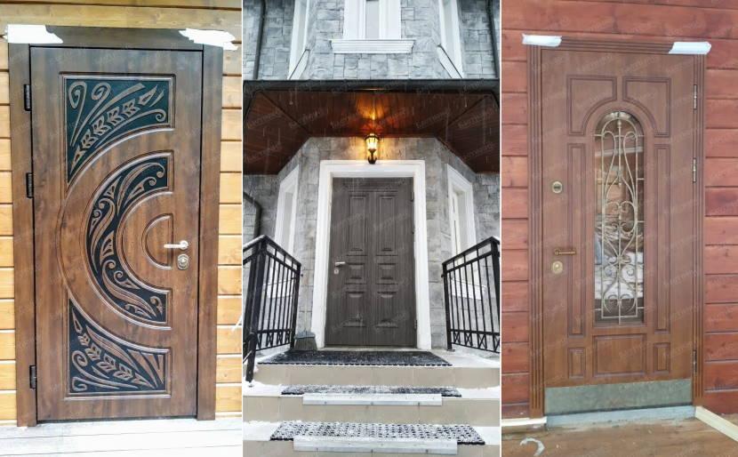 Пластиковая стеклянная дверь входная для частного дома: 100 фото лучших идей - prodverivdome