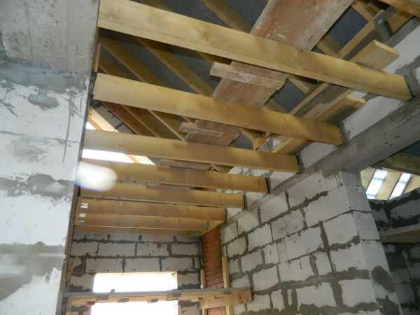 Перекрытие в доме из газобетона – советы по выполнению работ