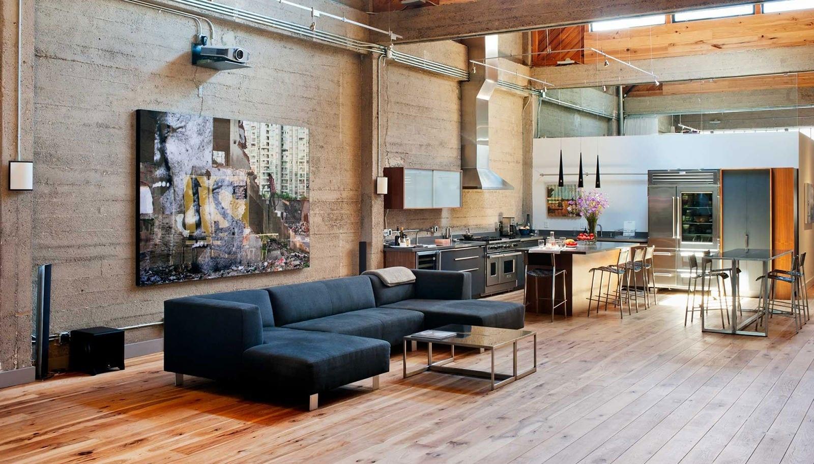 Дизайн интерьера в стиле лофт - пошаговое воплощение