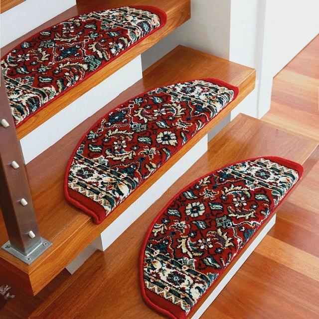 Коврики для ступеней лестницы - всё о лестницах