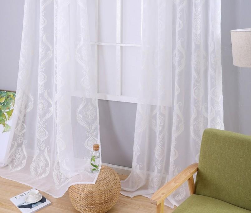 Как выбрать тюль на окна, виды тюля (9 фото-примеров)