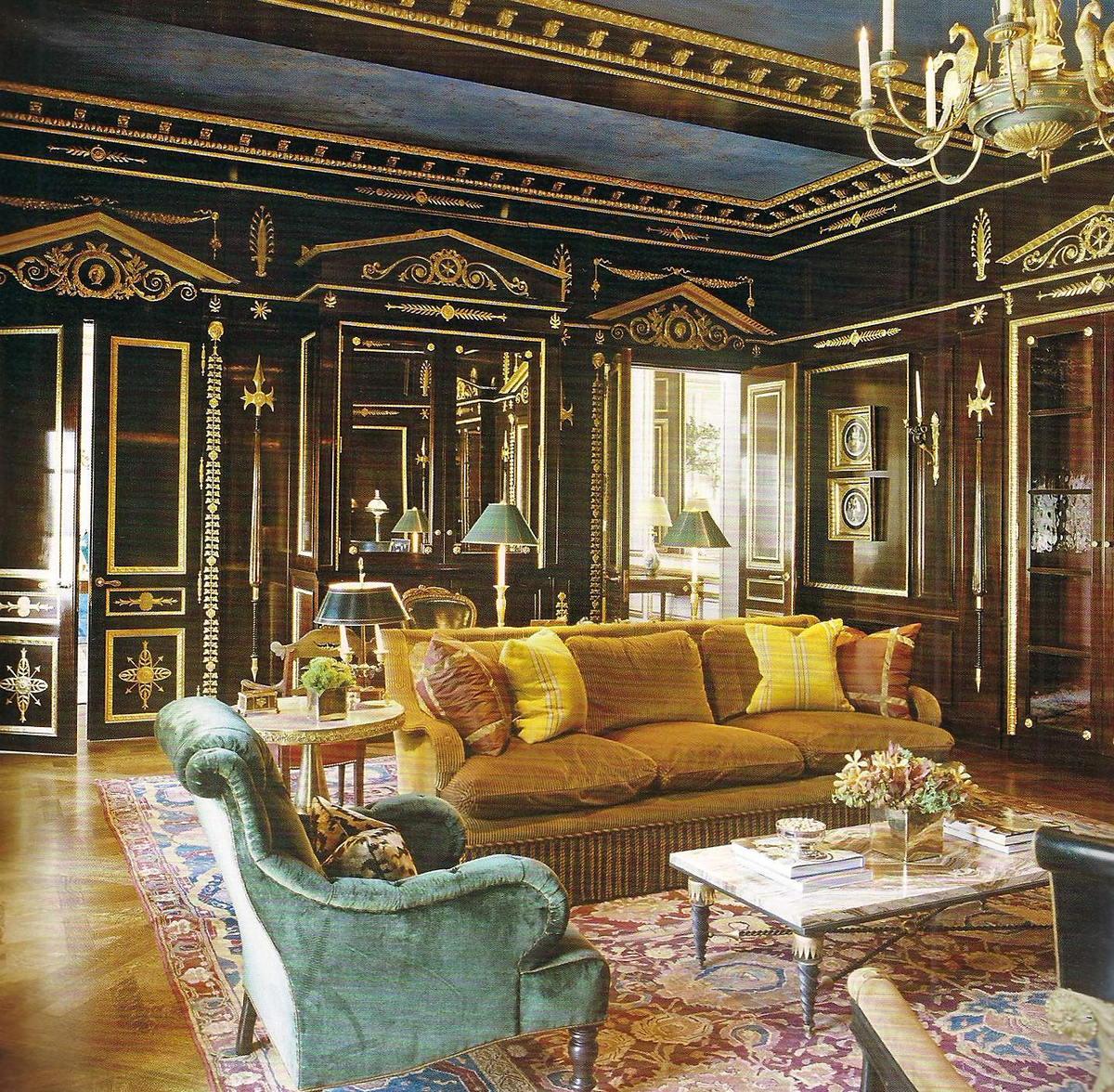 Ампир в интерьере исторических и современных помещений   мебельный журнал - все о мебели