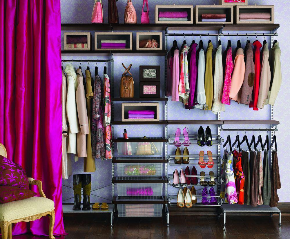 Системы хранения: для гардеробных вещей, модульные системы, хранение в кладовке