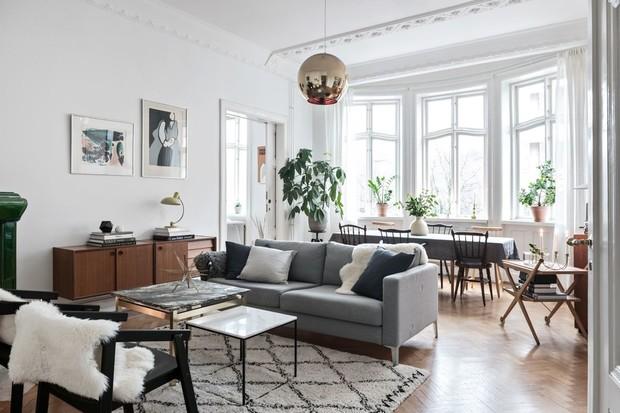 Оформление интерьера загородного дома в скандинавском стиле