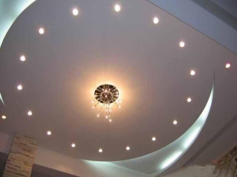 Как подобрать светильники для натяжного потолка — подходящие виды, рекомендации по их монтажу и советы по выбору (120 фото)