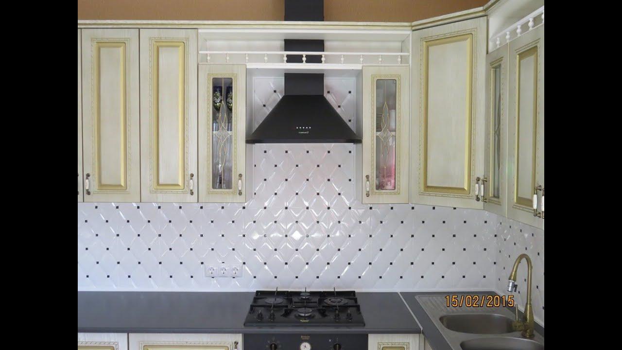 Керамическая плитка для кухонного фартука: виды, цвет и рисунок, реальные фото