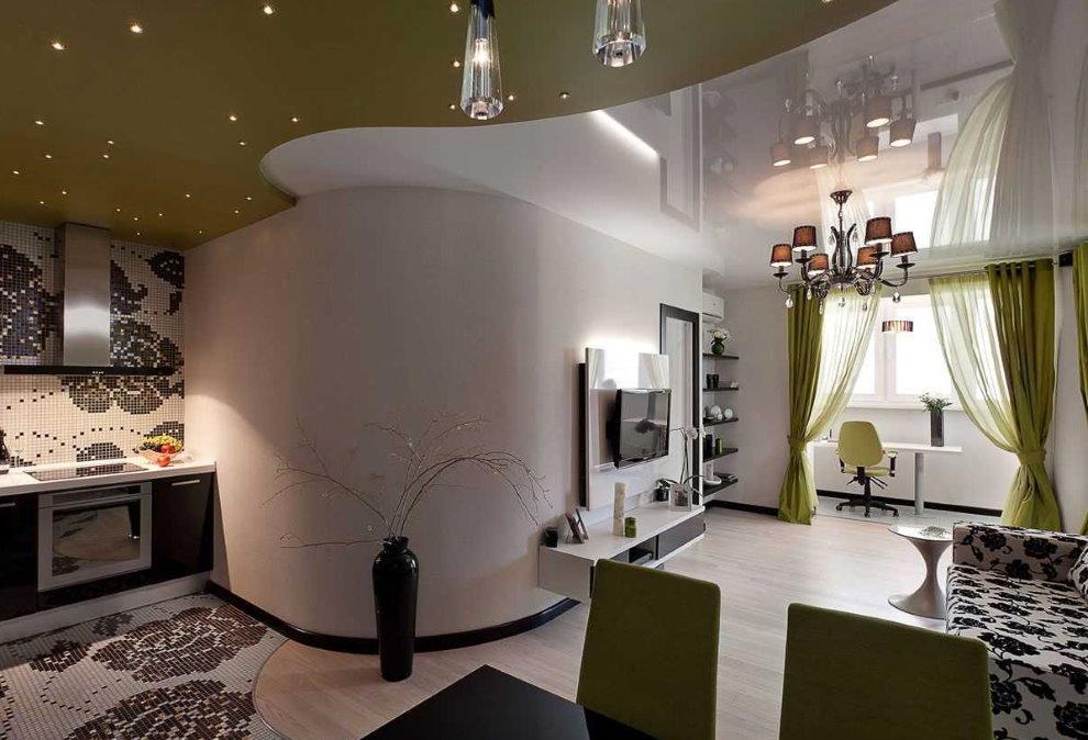 Дизайн двухкомнатной квартиры: современные стили и примеры строгого оформления дизайна (175 фото и видео)