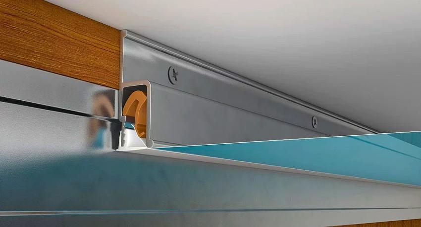 Багет для натяжных потолков: правильный выбор