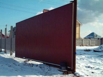 Ворота на роликах своими руками - всё о воротах и заборе