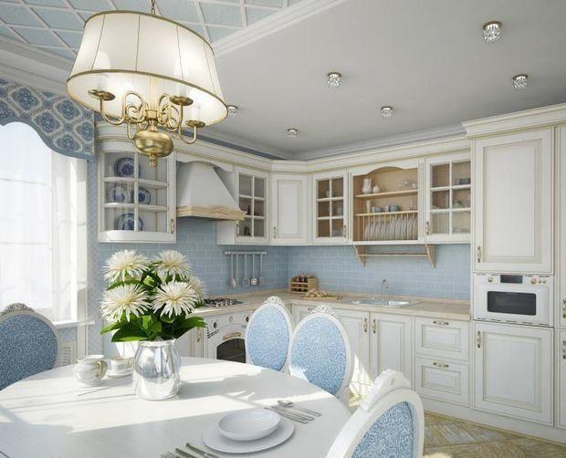 Дизайн кухни в стиле прованс - 80 фото интерьеров после ремонта, красивые идеи отделки