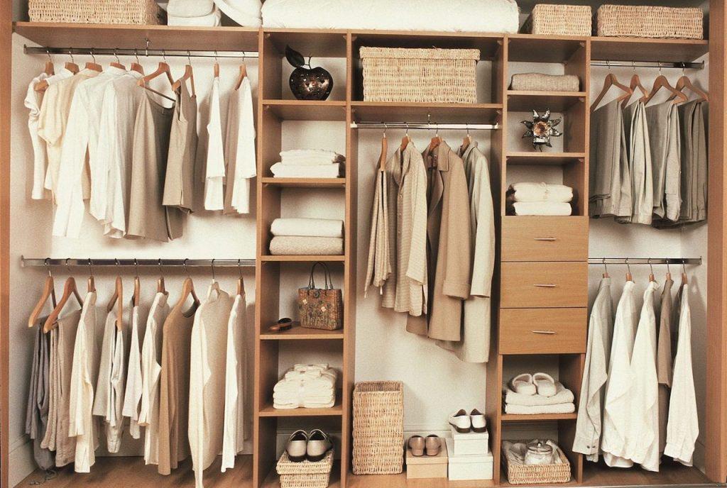 Оптимальные размеры гардеробной и 3 обязательных зоны