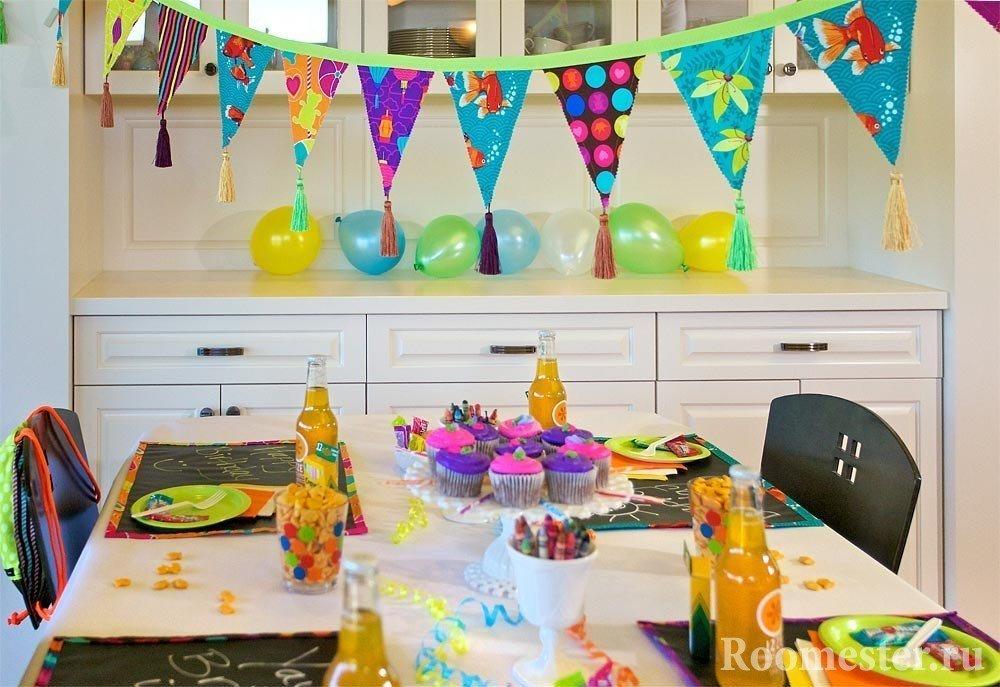 Праздничная сервировка детского стола: идеи и подсказки