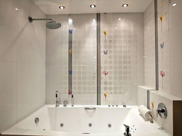 10 + вариантов чем отделать стены в ванной комнате