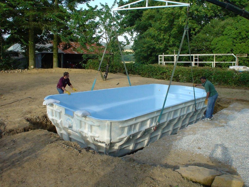 фундамент для бассейна