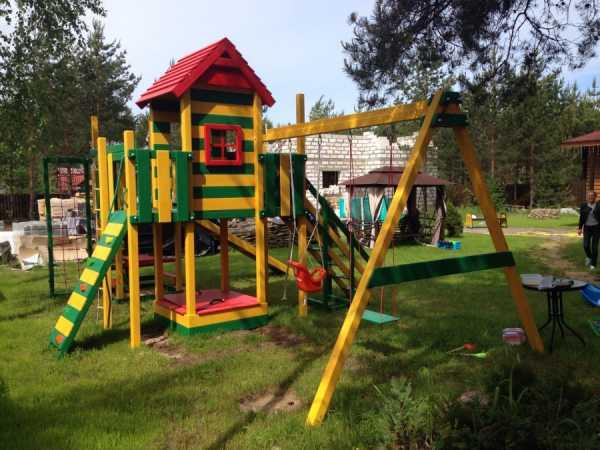 детский городок для дачи
