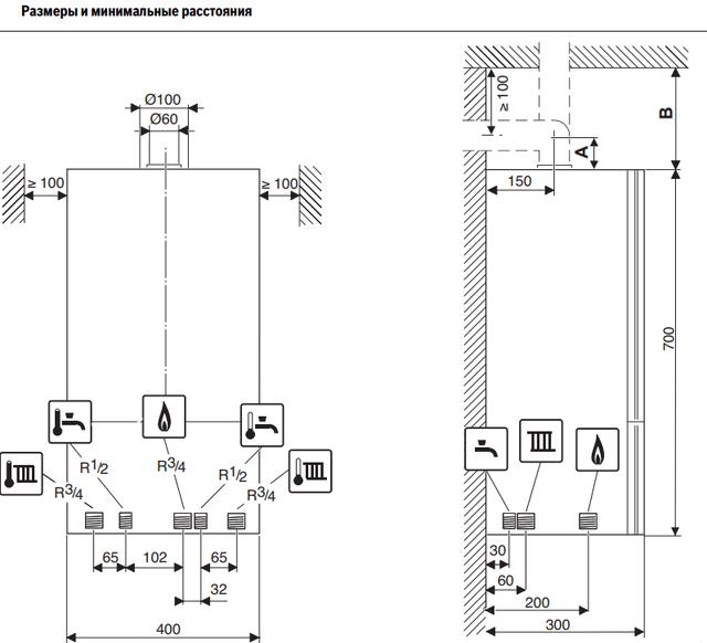 Обзор газового котла bosch gaz 6000 w wbn 6000-28 c
