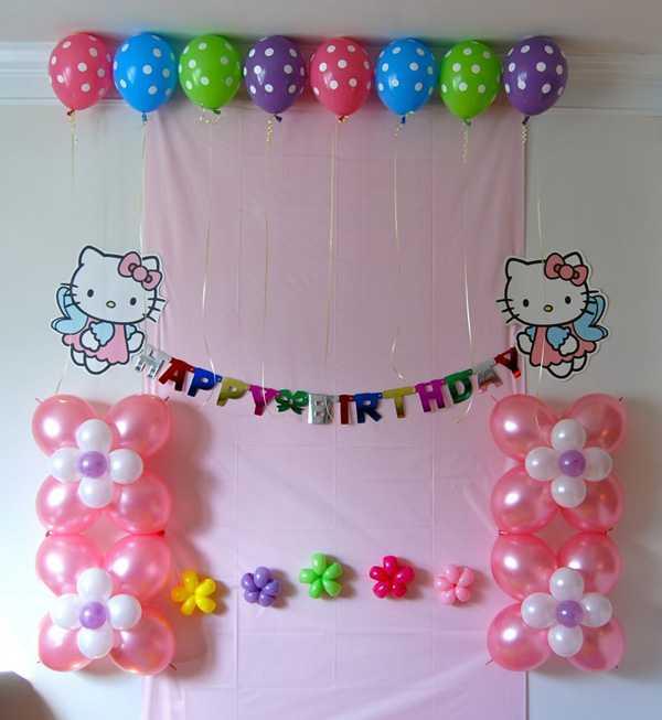 20 свежих идей, как украсить комнату на день рождения ребенка