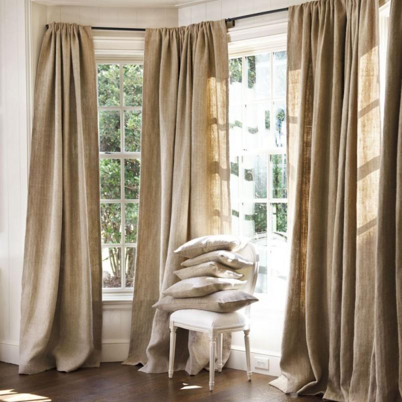 шторы для коридора в частный дом фото