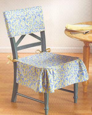 Чехлы на стулья со спинкой своими руками: выкройки, описание шитья, видео мк
