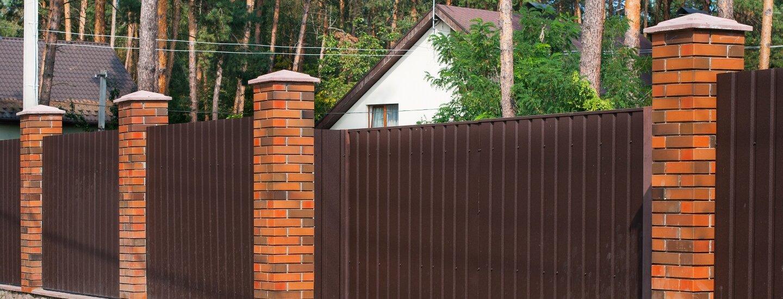 Варианты заборов для частного дома - всё о воротах и заборе