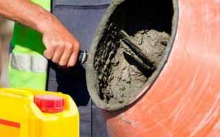Морозостойкие добавки в цементный раствор