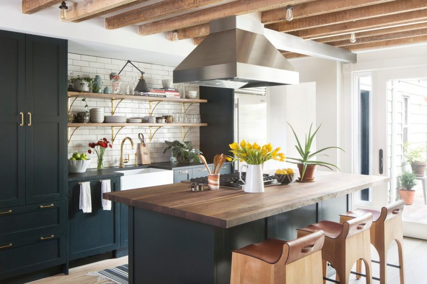 матовая плитка для кухни на фартук