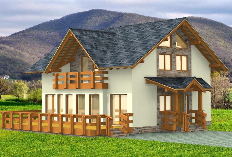 Каркасные дома: проекты, варианты оформления и особенности постройки. 135 фото лучших современных идей