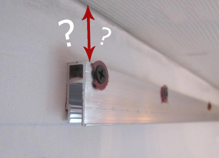высота натяжного потолка от потолка