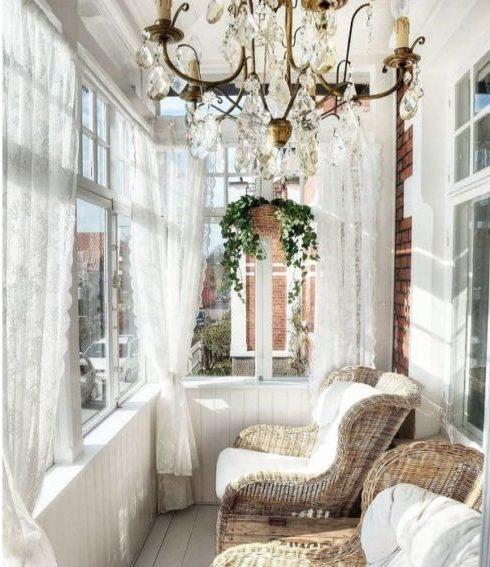 Шторы на балкон - 95 фото красивых идей оформления, правила монтажа и особенности ухода