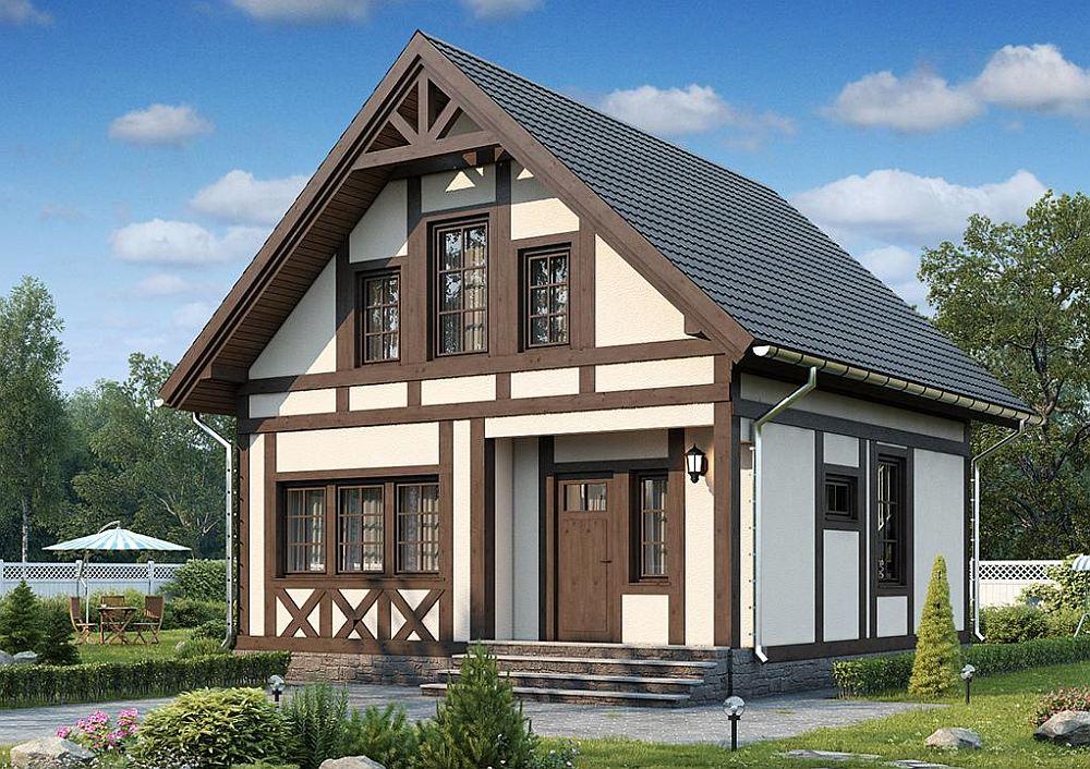 Фахверковые дома - 95 фото современных домов и хороших проектов