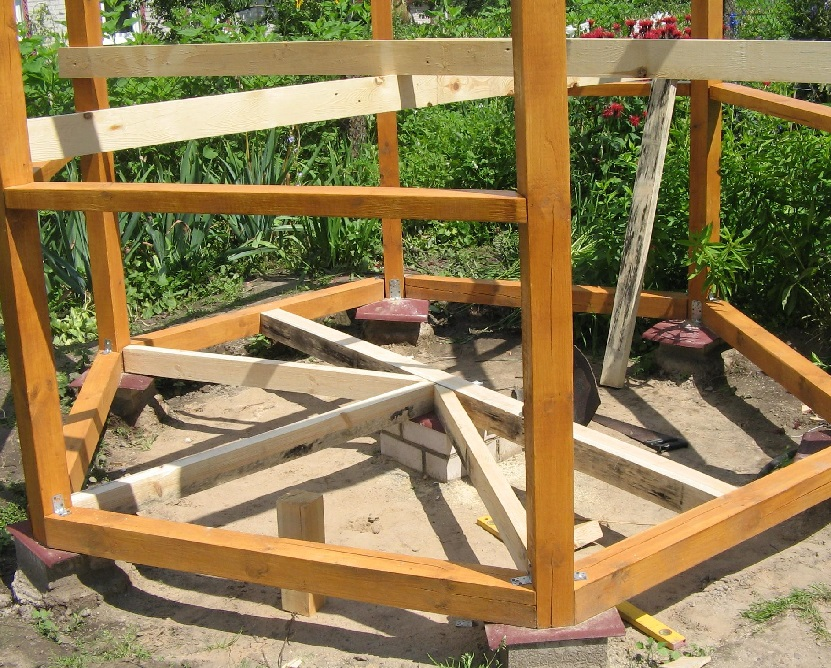 Гриль-домик: беседка для барбекю своими руками