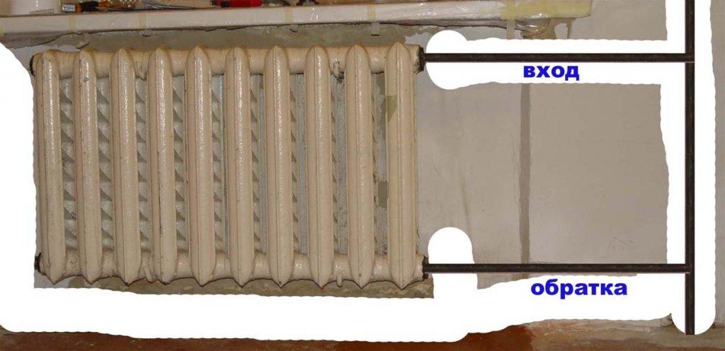 Холодные батареи - причины неполадок и методы их решения. жми