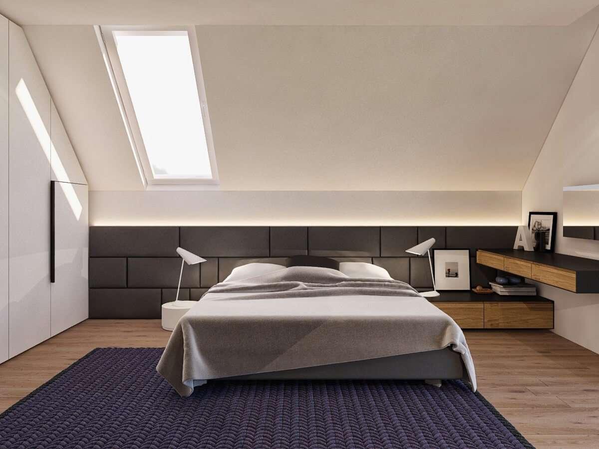 Дизайн ванной комнаты на мансарде – 65 фото в интерьере