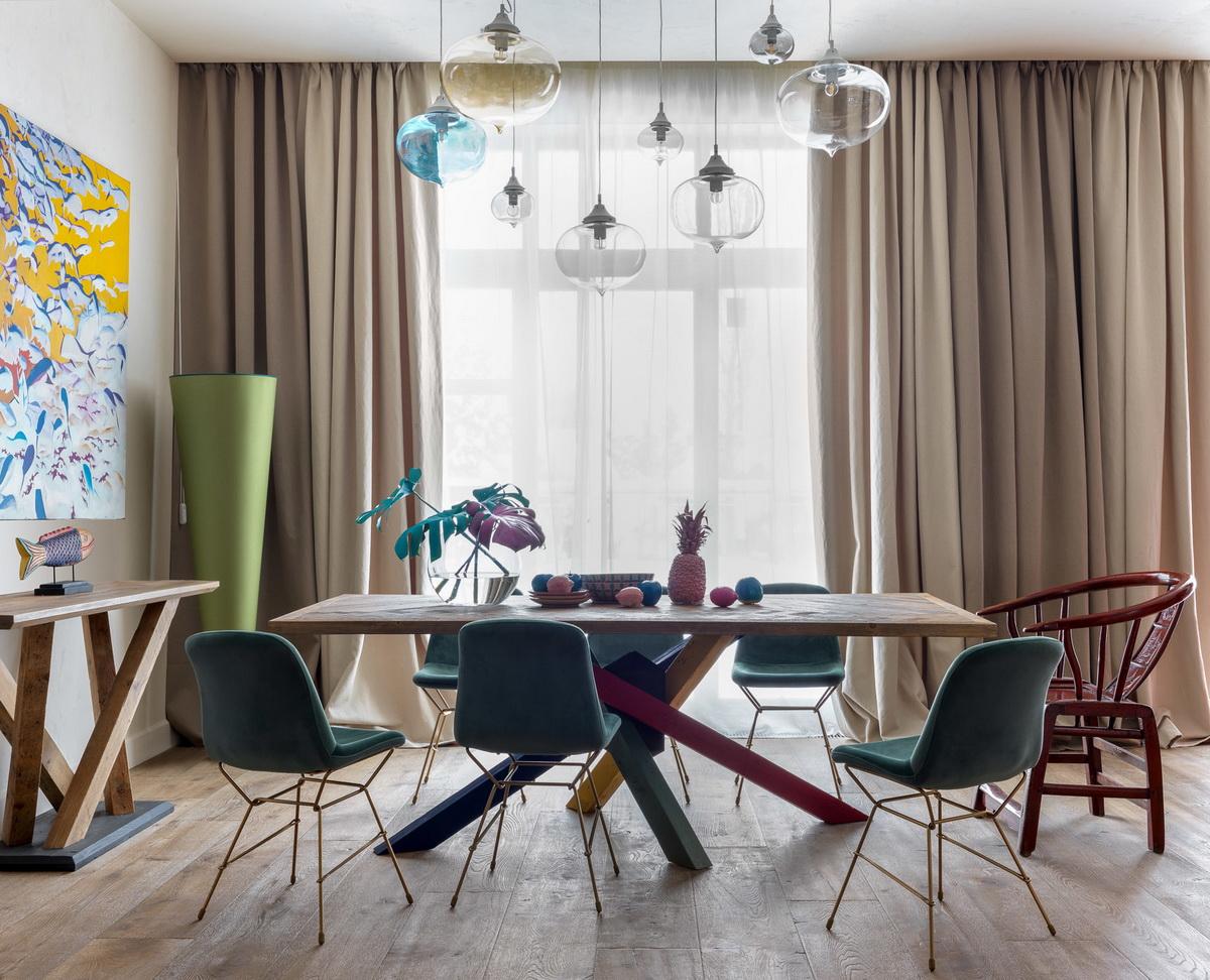 Шторы для зала: фото и дизайн трендов 2016-2017 - арт интерьер