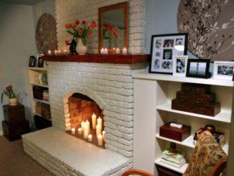 Чем покрасить печь из кирпича в доме: материалы, описание процесса, советы