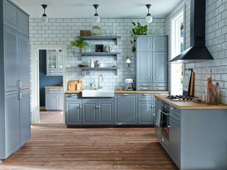 Гид по кухонным фасадам икеа + 50 фото в интерьере