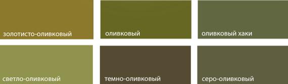 Зелено-желтый цвет и сочетание с ним