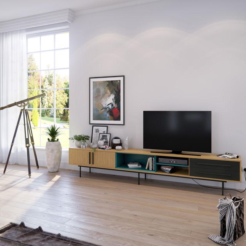 Тумба под телевизор, стол под телевизор в стиле прованс, красивая тумба в интерьере гостиной