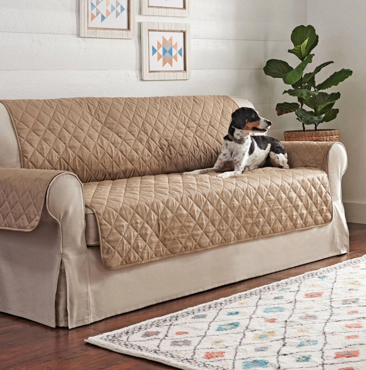 Накидки для дивана своими руками