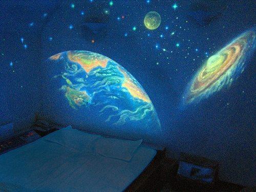 светящиеся обои для стен