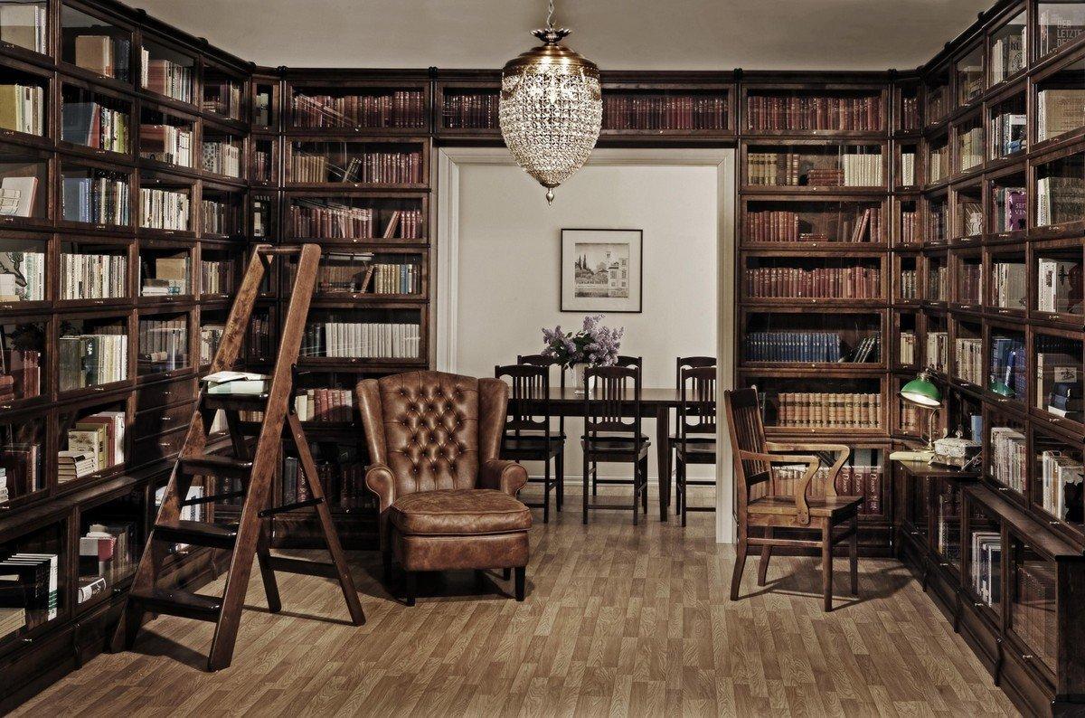 Оформление библиотеки: способы и современный подход (30 фото)
