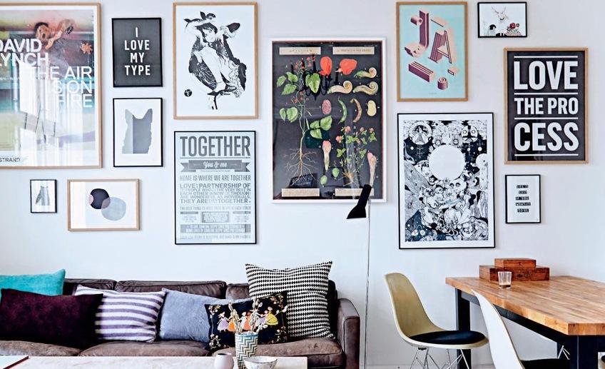 Постеры для интерьера (65 фото) – оформляем пространство креативно - happymodern.ru