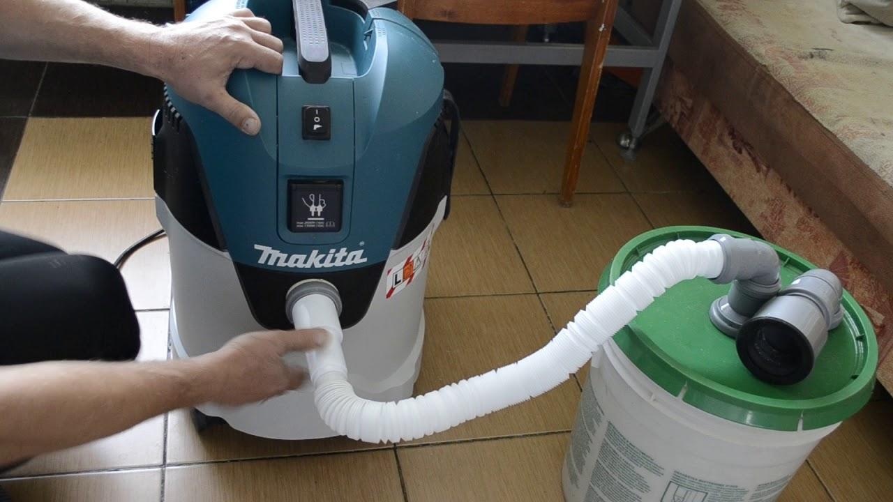 самодельный пылесос для мастерской