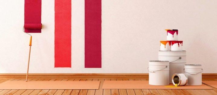 Краска для обоев под покраску - характеристики и цены популярных марок