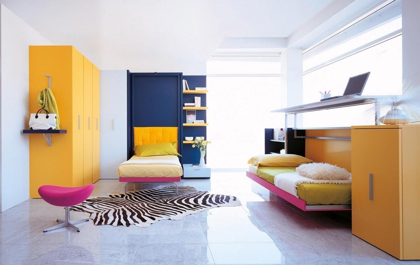 кровать убирающаяся в стену с диваном