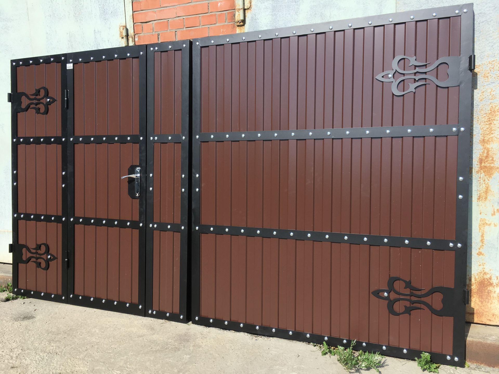 ворота и калитки для частного