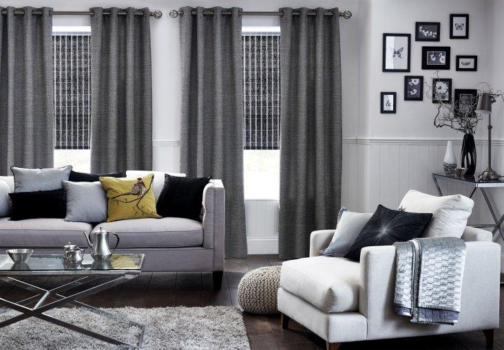 Серые обои в спальне (29 фото): дизайн интерьера с темно-серыми обоями