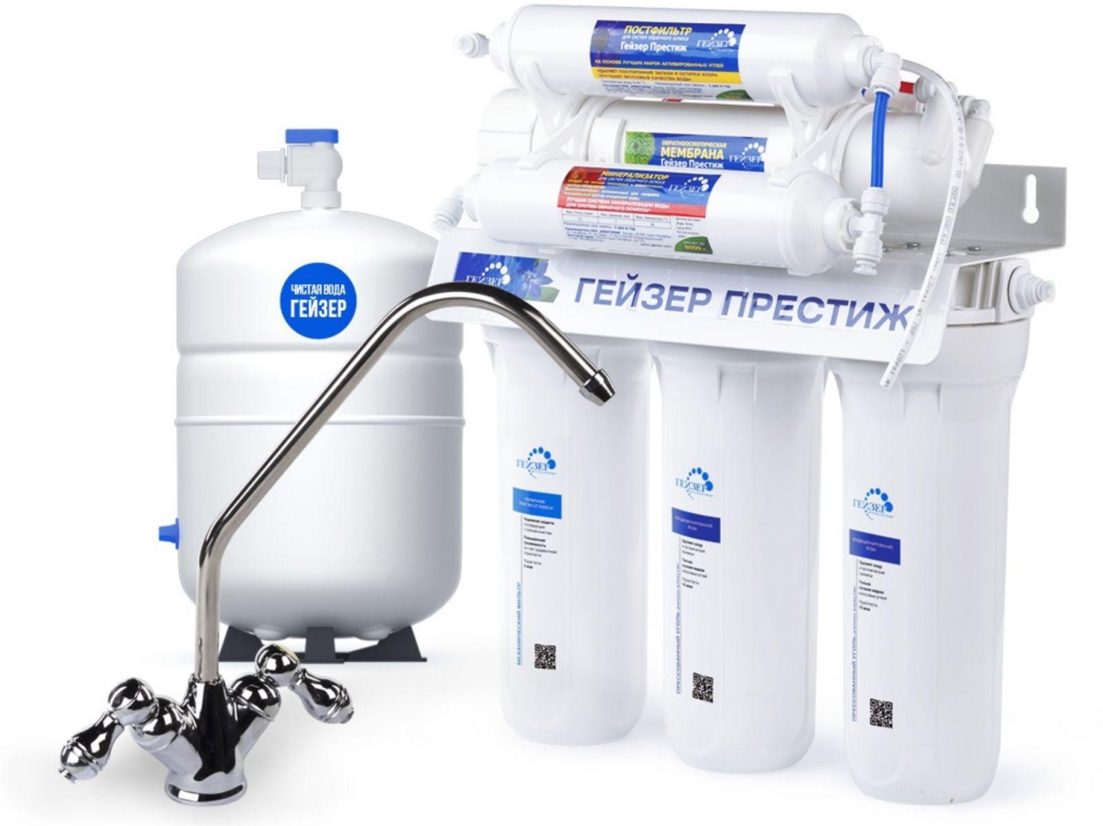 очистители воды для кухни