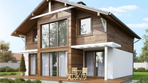 Дом из бетонных панелей: виды материалов и технология строительства